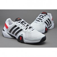 Кроссовки ADIDAS Adipower Barricade 8  White Black Red