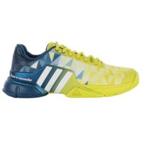 Кроссовки мужские ADIDAS ADIPOWER BARRICADE 2016 Blue/Yellow