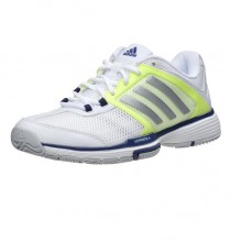 Кроссовки ADIDAS Barricade Team 4 W White Matte Silver Midnight Indigo