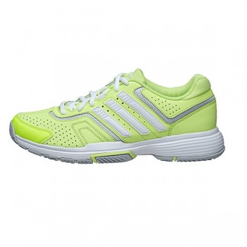Кроссовки ADIDAS Barricade Court W Yellow White Clear Grey