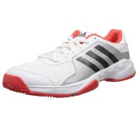 Кроссовки ADIDAS Barricade Court White Iron Metallic Bright Red