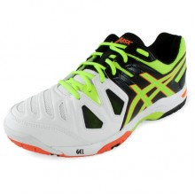 Кроссовки ASICS Gel Game 5 Onyx Flash Yellow Flash Orange