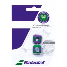 Виброгаситель BABOLAT CUSTOM DAMP Wimbledon  X2 Green Purple