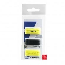 Резинка для ручки BABOLAT CUSTOM RING X3 Yellow/Black