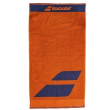 Полотенце Babolat MEDIUM TOWEL FLAME/ESTATE BLUE