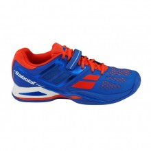 Кроссовки BABOLAT PROPULSE CLAY M BLUE/RED