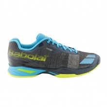 Кроссовки BABOLAT JET ALL COURT M GREY/BLUE/YELLOW