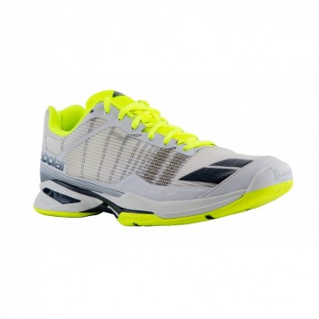 Кроссовки BABOLAT JET TEAM ALL COURT M WHITE/YELLOW