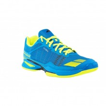 Кроссовки BABOLAT JET TEAM CLAY MEN BLUE/YELLOW