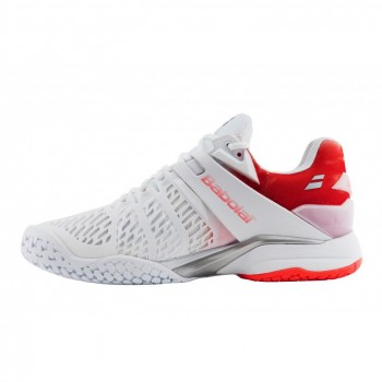 Кроссовки BABOLAT PROPULSE FURY ALL COURT W WHITE/PINK