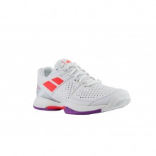 Кроссовки BABOLAT PULSION BPM ALL COURT W WHITE/FLUO RED