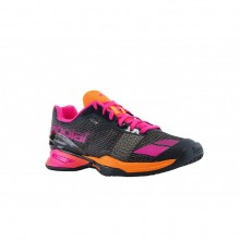 Кроссовки BABOLAT JET CLAY W GREY/ORANGE/PINK