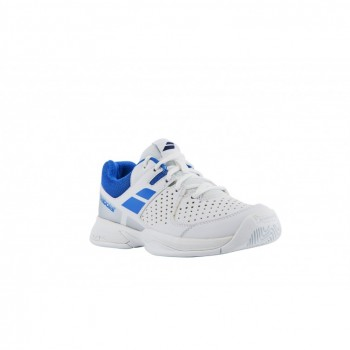 Кроссовки BABOLAT PULSION ALL COURT JR WHITE/BLUE