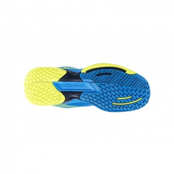 Кроссовки BABOLAT JET ALL COURT JUNIOR BLUE/YELLOW