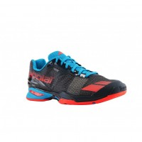 Кроссовки BABOLAT JET ALL COURT JUNIOR GREY/RED/BLUE