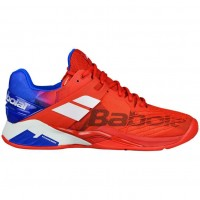 Кроссовки Babolat PROPULSE FURY CLAY MEN RED/BLUE