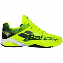Кроссовки Babolat PROPULSE FURY CLAY MEN FLUO YELLOW/BLACK
