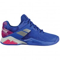 Кроссовки Babolat PROPULSE FURY CLAY WOMEN BLUE/PINK