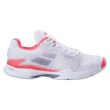Кроссовки Babolat JET MACH II ALL COURT WOMEN WHITE/FLUO PINK/SILVER