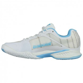 Кроссовки Babolat JET MACH I ALL COURT WOMEN WHITE/SKY BLUE