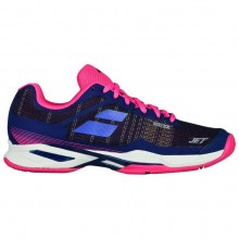 Кроссовки Babolat JET MACH I ALL COURT WOMEN ESTATE BLUE/FANDANGO PINK