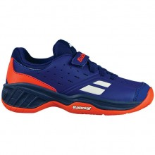 Кроссовки Babolat PULSION ALL COURT KID ESTATE BLUE/ORANGE