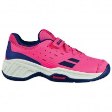 Кроссовки Babolat PULSION ALL COURT KID FANDANGO PINK/ESTATE BLUE