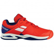 Кроссовки Babolat PROPULSE AC JUNIOR BRIGHT RED/ESTATE BLUE