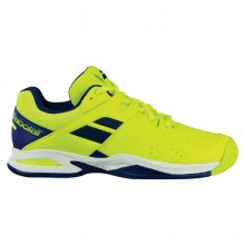 Кроссовки Babolat PROPULSE AC JUNIOR FLUO YELLOW/ESTATE BLUE