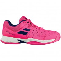 Кроссовки Babolat PULSION ALL COURT JR FANDANGO PINK/ESTATE BLUE