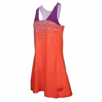 Платье Babolat PERF RACERBACK DRESS GIRL FLUO RED