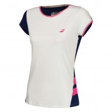 Майка Babolat PERF CAP SLEEVE TOP WOMEN WHITE/ESTATE BLUE