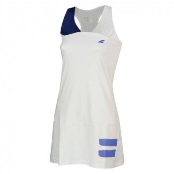 Платье Babolat PERF RACERBACK DRESS WOMEN WHITE/BLUE