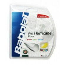 Струны BABOLAT Pro Hurricane 1.25 mm Yellow, set 12m