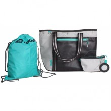 Сумка Babolat Club Tote Bag Grey / Aqua