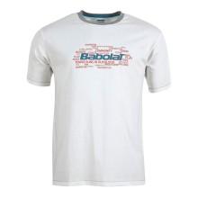 Футболка BABOLAT 40F1582 TSHIRT TRANNING BASIC White