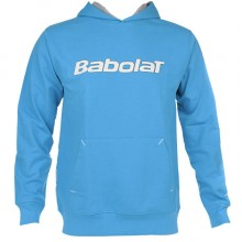 Толстовка  BABOLAT 40F1458 SWEAT TRANING BASIC UNISEX Blue