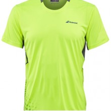 Футболка BABOLAT CREW NECK PERF Yellow