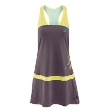 Платье BABOLAT DRESS RACEBACK PERF WOMEN Dark Grey
