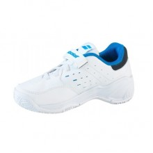 Кроссовки BABOLAT Drive 3 Kid Tennis White Blue