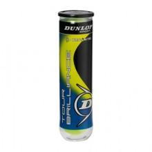 Мяч теннисный DUNLOP Tour Brilliance 4 x 18