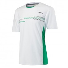 Футболка HEAD CLUB TECHNICAL T-SHIRT B White