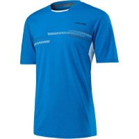 Футболка Head Club Technical Shirt M Blue