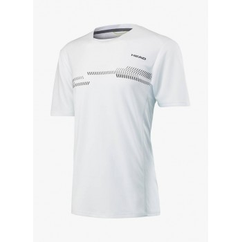 Футболка Head Club Technical Shirt M White