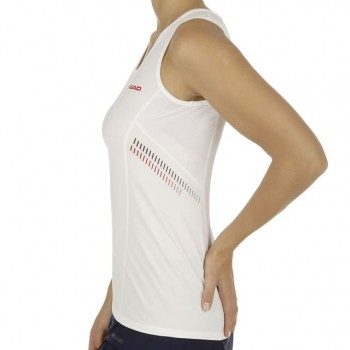 Майка Head Club Tank Top W White Red