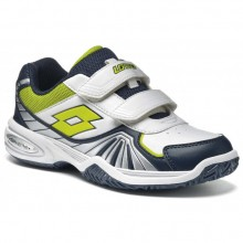 Кроссовки LOTTO S1493 Stratosphere III CL S White Navy Blue Green