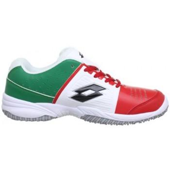 Кроссовки LOTTO Q5129 T-Tour JR L  White/Red/Green