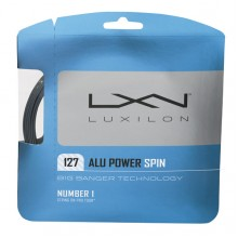 Струны Luxilon Alu Power Spin 1,27 mm Grey, set 12m