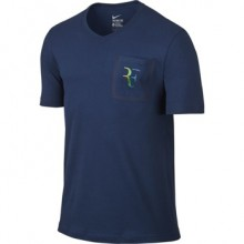 Футболка NIKE RF STEALTH T-SHIRT Blue