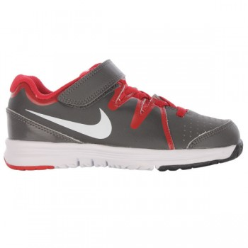 Кроссовки NIKE TBNJ-077 Vapor Court Dark Grey Red